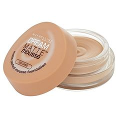 Maybelline New York Dream Matte Mousse Foundation Sand 030 >>> Check out the image by visiting the link. (Note:Amazon affiliate link)