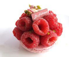 La Fabrique à Gâteaux - Paris - Macaron rose - framboise