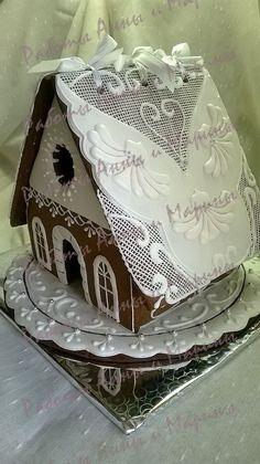 Gingerbread wedding house. mak11.livemaster.ru