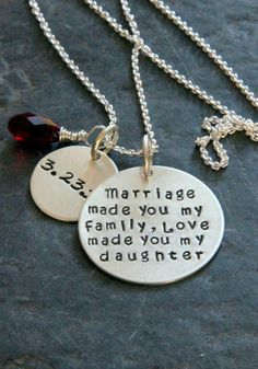 Gift For Daughter In Law Gift from Stepmother by whiteliliedesigns, $54.00