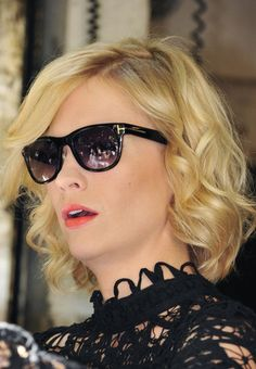 Portraying Emma Frost in X-men: First Class, January Jones Will freeze you to the bone with these Tom Ford sunglasses