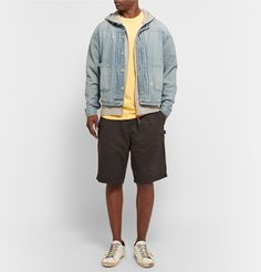 Stussy Shorts. Could totally purchase some shorts like this. Not too short to look like a fuckboi  but not too long to look like a Holmes.