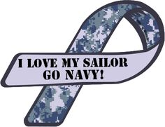 Custom Ribbon: I Love My Sailor / GO NAVY! Purchase or customize this item as a magnet or sticker - or create your own custom creation. Proud Navy Girlfriend, Navy Sister, Military Girlfriend, Navy Mom, Military Love, Military Couples, Us Navy Love, Go Navy, Navy Tattoos