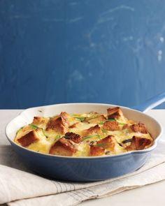 Mushroom, Cheddar, and Toast Frittata Recipe