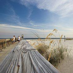 Roam Gulf Shores' Bon Secour National Wildlife Refuge, a 6,200-acre sanctuary with beach access; (251) 540-7720.