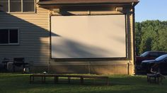 """""""New screen worked perfectly. Movie night last night was a big hit. Here are some pictures. Thanks again for getting me the correct screen in time."""" —Scott J. Millstone Township, NJ (07/25/16)"""