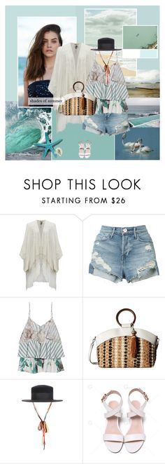 """""""Shades of summer"""" by rainie-minnie ❤ liked on Polyvore featuring 3x1, Paul & Joe, Sam Edelman, Herend and country"""