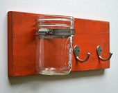 wall organizer key hook. $22.00, via Etsy.