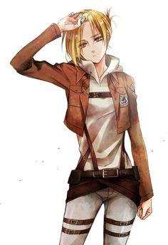 Annie Leonhart - Shingeki no Kyojin / Attack on Titan Armin, Levi X Eren, Mikasa, Attack On Titan Eren, Attack On Titan Fanart, 5 Anime, Girls Anime, Kuroko, Snk Annie