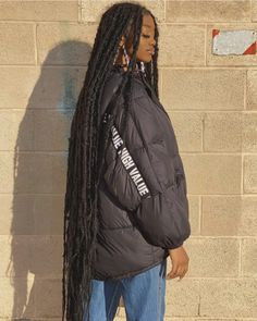 Faux Locs Hairstyles, Black Girl Braided Hairstyles, Black Girl Braids, African Braids Hairstyles, Baddie Hairstyles, Braids For Black Hair, Black Women Hairstyles, Black Girls With Dreads, Faux Locs Marley Hair