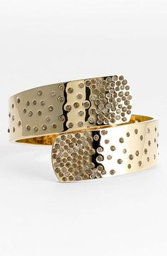 St. John Collection Pavé Crystal Wrap Bangle available at  Nordstrom Stone  Jewelry, Jewelry 4c3d8e3a72a