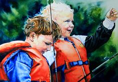 Commission a child portrait from your photo direct from artist Hanne Lore Koehler. Price list online.