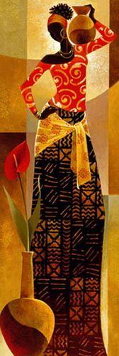 Black Female Art
