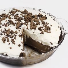 Chocolate Cream Pie- this recipe will satisfy even the most extreme chocoholic!