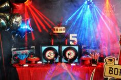 Born to Rock Kids Party - #partyideas #kidsparty