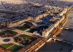 Le Louvre et le jardin des Tuileries