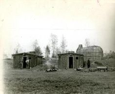 June, 11 1930: Huts and wigwams at the Salem Pioneer Village were being constructed as reproductions of the architecture of the earliest settlers. The Village, which opened in 1930, had a saw-pit, salt works, soap works, and pillory and stocks where sinners could pretend to be being scorned by the villagers.