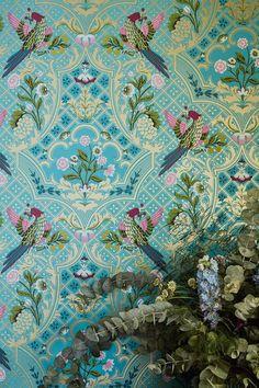 Amazing Little Greene Brodsworth wallpaper design.