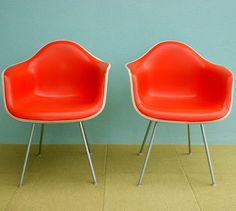 vintage eames chairs // The Modern Historic on etsy
