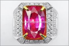 Sparkling Hot Red RUBY Crystal. TOP - RBC 130