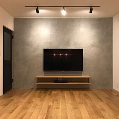 Accent Walls In Living Room, Home Living Room, Apartment Living, Living Room Decor, Deco Tv, Casa Top, Single Floor House Design, House Plans With Pictures, Living Room Tv Unit Designs