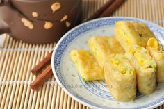 Egg Pancake Rolls, Chinese and Taiwanese Breakfast