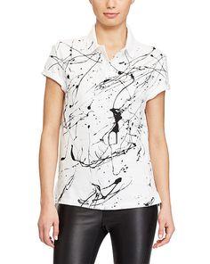 Paint-Splattered Polo Shirt Ralph Lauren Paint, Ralph Lauren Style, Polo Ralph  Lauren 5aa067baefb