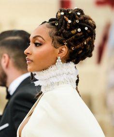 Amazing Wedding Makeup Tips – Makeup Design Ideas Dreadlock Wedding Hairstyles, Black Wedding Hairstyles, Faux Locs Hairstyles, Black Hairstyles, American Hairstyles, Hairstyles Pictures, Girl Hairstyles, Gorgeous Hairstyles, Celebrity Hairstyles