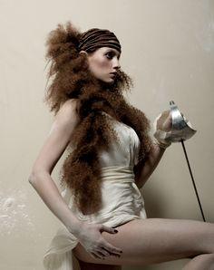 Avant Garde Hair by Paul Falltrick Hair shot by Nick Fallowfield-Cooper