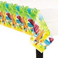 Tablecover Surf's Up $10.95 A579782 Wholesale Party Supplies, Printed Balloons, Surfs Up, Birthday Party Themes, Hawaiian, Beach Mat, Outdoor Blanket, Design, Table