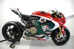 Racing Cafè: Ducati 1199 Panigale RS BSB M.Baiocco Team Moto Rapido 2013