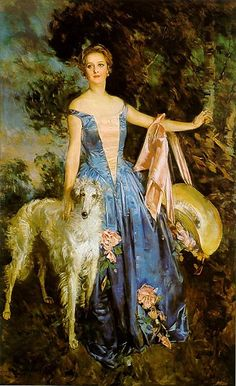 Portrait of Nancy, 1928, by Howard Chandler Christy.