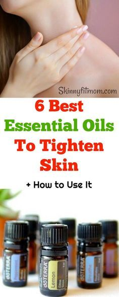 6 Best Essential Oils To Tighten Skin + How to Use It- Learn how to tighten sagging skin with the best essential oils. These are safer than chemical products.