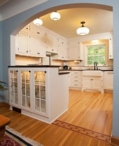 Kitchen Wall Open Into Dining Room Design Ideas, Pictures, Remodel ...