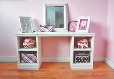 We have the stuff now its a matter of building these...got it to make two for the girls' room.