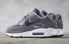 "Nike Air Max 90 Premium ""Grey & Anthracite"""