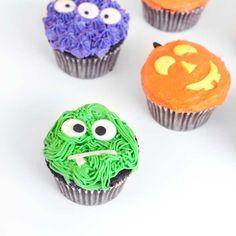 Halloween Baking Ideas   DIY Halloween Cupcakes