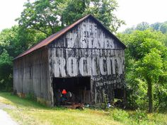 This Old Barn is a couple miles North of the City of Ripley, Ohio.