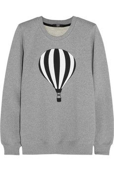 Markus Lupfer Anna printed cotton-jersey sweatshirt | THE OUTNET
