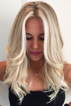 Pretty Shades of Platinum Blonde Hair ★ See more: lovehairstyles.co...