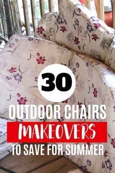 If your patio chairs have seen better days check out these quick and easy DIY chair upcycle ideas. Quick and budget friendly ways to update and make your outdoor furniture look like new. Backyard Chairs, Pool Chairs, Chair Upcycle, Diy Chair, Chair Makeover, Furniture Makeover, Lifeguard Chair, Rustoleum Spray Paint, Turquoise Painting