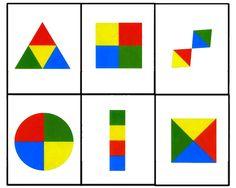 Barvy a tvary přiřazování