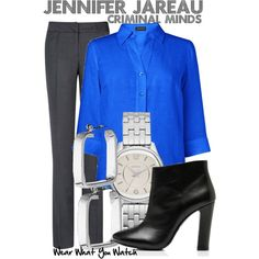 Inspired by AJ Cook as Jennifer Jareau on Criminal Minds I would definitely where that when I become an FBI Agent!! :D