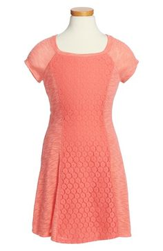 Ten+Sixty+Sherman+Knit+to+Crochet+Sweater+Dress+(Big+Girls)+available+at+#Nordstrom
