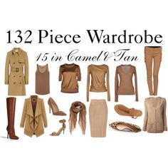 """15 in Camel & Tan"" by charlotte-mcfarlane on Polyvore"