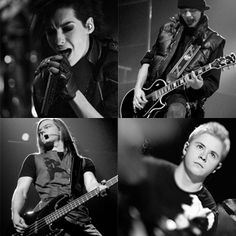 Tokio Hotel!! My favorite Rock-Pop band forever!! The've litterally change my life with their music.