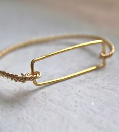 Gold Sailors Bracelet