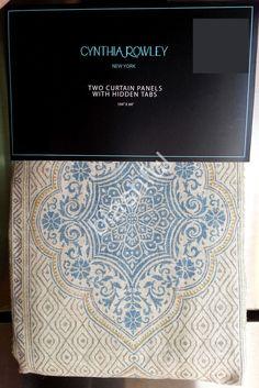 Cynthia Rowley Xl Medallion Queen Quilt 3pc Set Tropical
