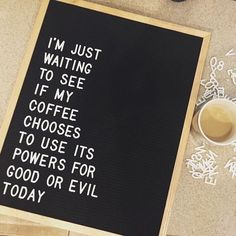 With great power comes great responsibility. Do your thing, caffeine. : @treehugger0013