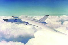XH558 on her delivery flight from Woodford to RAF Waddington – taken on 1st July 1960 – 55 years ago tomorrow. You can see that when the picture was taken, the Ram Air Turbine (RAT) was deployed - visible just underneath the port intake.